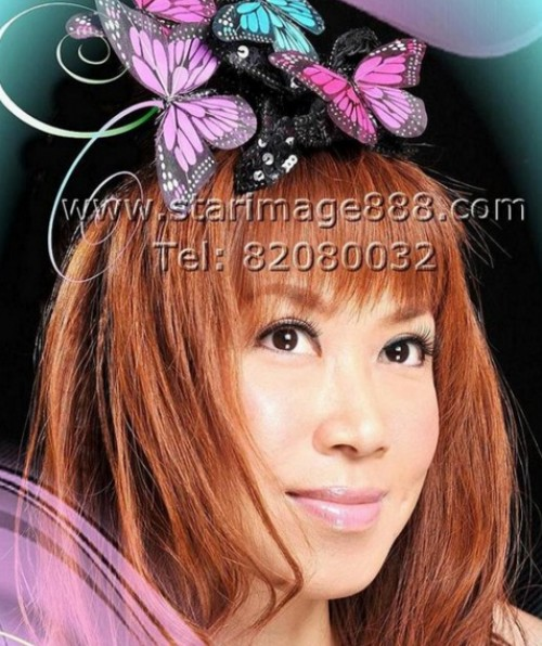 STAR IMAGE make up hair style